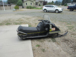 1973  John Deere snowmobile