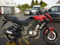KAWASAKI VERSYS 1000 2018 MODEL CANDY FIRE RED