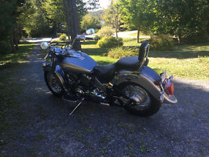 2009 650 Yamaha V-star. Low kilometres. Mint.