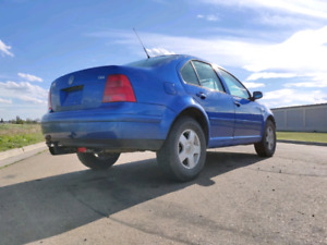 2001 Volkswagen Jetta in blue lagoon, LIFTED, turbo diesel