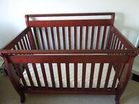 Kalani baby crib and dresser