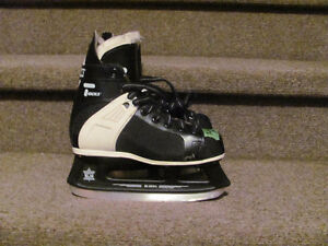 Hockey skates sizes 3,4,are $17 and up