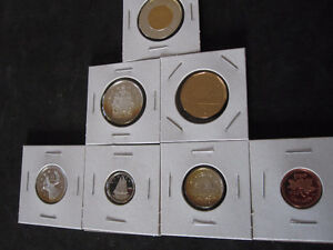 1998 Canada Sterling Silver PROOF 7 Coin Set