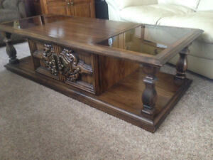 Coffee & End Table great shape $75.00 obo
