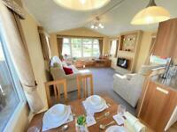 Static Caravan for sale Morecambe Bay with Decking