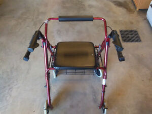 Four Wheel Walker Rollator for sale Gatineau Ottawa / Gatineau Area image 1