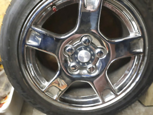 Corvette rims & tires