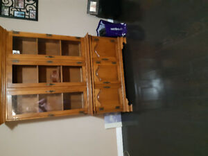 China  cabinet and corner nook