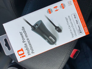 Brand NEW iQ Rapid In-Car Charger
