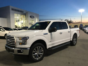 0.49% LEASE TAKEOVER 2017 FORD F150 XTR PKG 4X4 WHITE TINTED