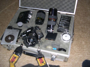 35mm Camera and Accessories