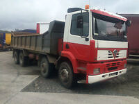2001 Foden 8x4 Tipper Steel Body ,Cat Engine