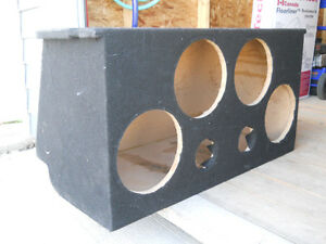 "Sub Subwoofer Box for four 10"" subs MAZDA MX-5 ??"