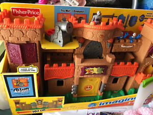 Brand new Imaginext Castle