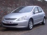Peugeot 307 2.0HDi Diesel 90 ( a/c ) Rapier 2002(02) 5 Door Hatchback