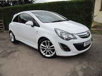 Vauxhall Corsa SRI 1.4 - White