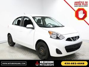 2015 Nissan Micra SV-A/C-CRUISE-BLUTOOTH-AUTOMATIQUE
