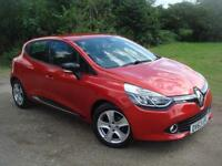 Renault Clio 1.2 16v ( 75bhp ) MEDIA PACK(NAV) BLUETOOTH, ONLY 8OOO MILES