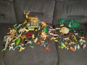 Plus de 130 petits animaux, dragons, oiseaux et camionnette