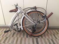 Unisex Viking easy street folding bike AS NEW £120