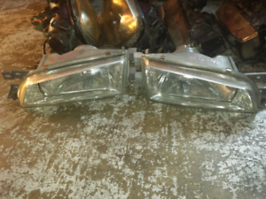 JDM Subaru impreza STi GC8 Crystal Clear HeadLights Head Lights