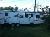 2010 cougar 32ft pull trailer