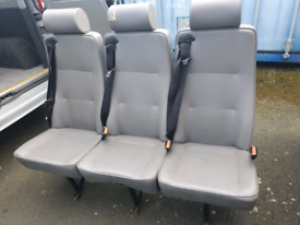 Crew van seats / minibus with seatbelts