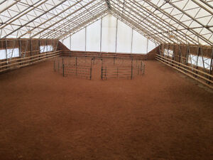Barn / indoor arena /15 stalls /pasture available immediately