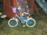 "Girl's 14"" Bike"