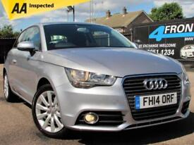 2014 AUDI A1 1.4 TFSI SPORT 3DR 6 SPEED MANUAL PETROL HATCHBACK PETROL