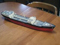 N scale or Z scale ship for electric model trains