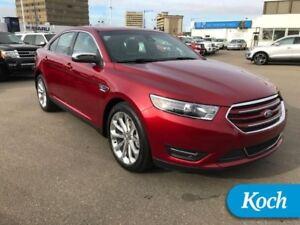 2017 Ford Taurus Limited  Moonroof, Nav, BLIS, Remote Start, Son