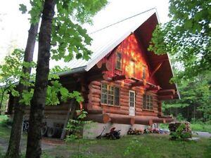 Cherche coloc (maison en bois)