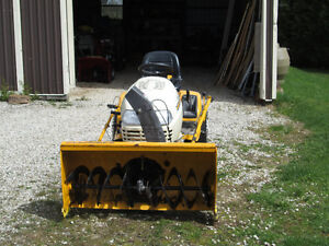 Cub Cadet 2523 Tractor w/Snow Blower and Mower Attachment