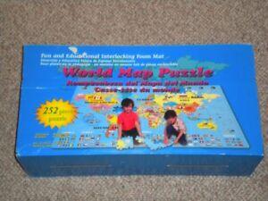 252 Piece Foam World Puzzle