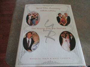 The Young and the Restless collector's  hardcover book