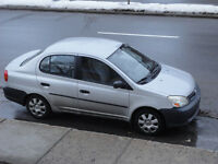 2003 Toyota Echo A/C,1.5L Berline