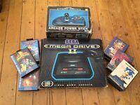 Sega Megadrive ll Console