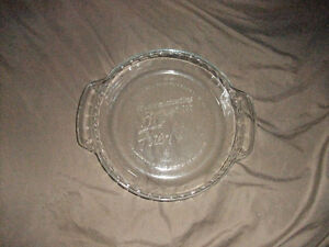 Fire King Anniversary 50 Years Vintage Glass Pie Pan