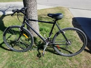 "21 speed Apollo hybrid bike 18"" frame"