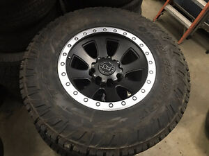 "Like NEW Toyo Open Country CT 35"" winter tires & rims"