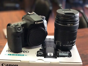 Selling MINT Canon 70D w/ 18-135mm LENS -Perfect Beginner Camera Stratford Kitchener Area image 1