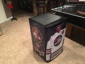 Heritage classic autographed bar fridge