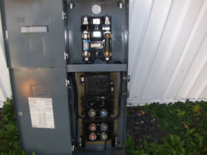 Fused Electrical Service Entrance Panel 60amp