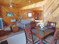 Deluxe lakefront cabins for rent at Tall Timber Lodge