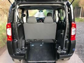 2015 Fiat Qubo 1.3 Multijet MyLife 5dr AUTOMATIC RIDE UPFRONT WHEELCHAIR ACCE...
