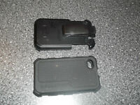 black iphone case and clip for sale