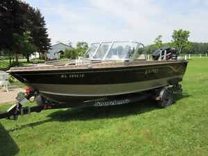 Used 2000 Lund Boat Co 1700 pro sport