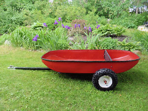 Trailer for quad or lawn tractor