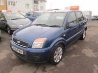 2006 Ford Fusion Hatch 5Dr 1.4TDCi 68 Plus Diesel blue Manual